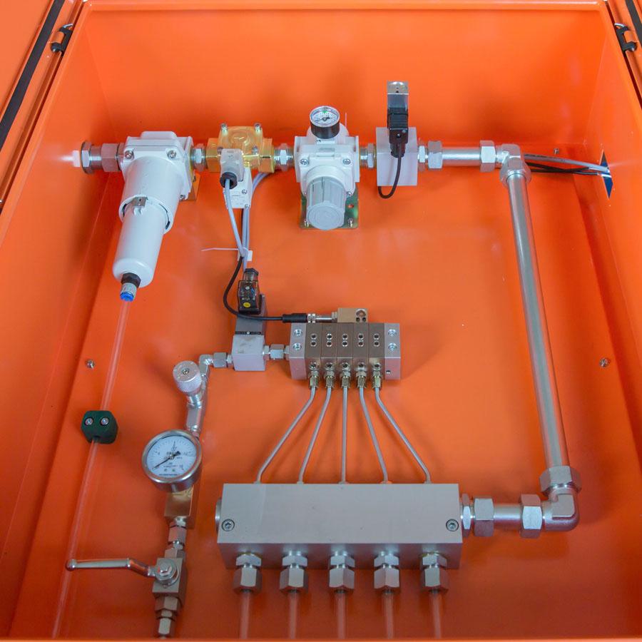 ABL03油气润滑系统之分站(带气源处理装置)