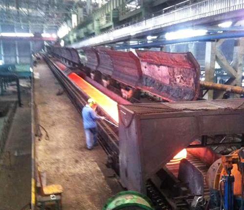 山西安泰钢铁高线厂-烟台华顺油气润滑系统应用案例