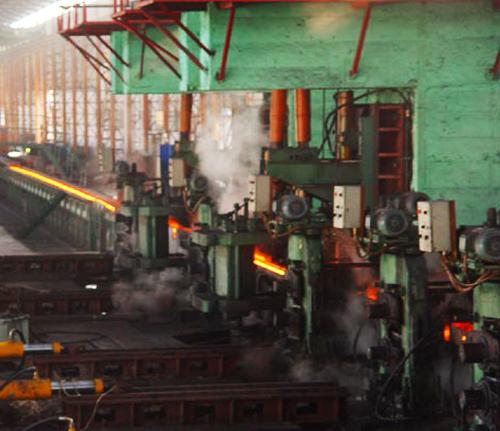 九江四炼钢方坯连铸机-烟台华顺油气润滑系统