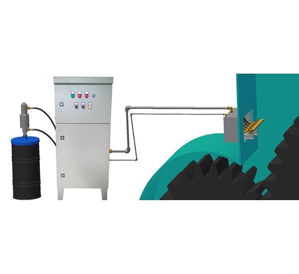 开式齿轮油气润滑系统